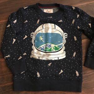 Mini Boden astronaut sweatshirt